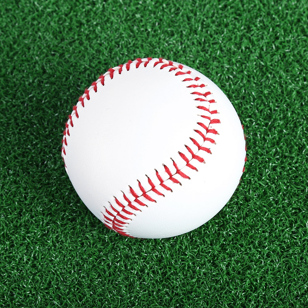 Professional White Baseball Ball Outdoor Sports Practice Training Softball Sport Team Game 1 Piece 2.75 Inches