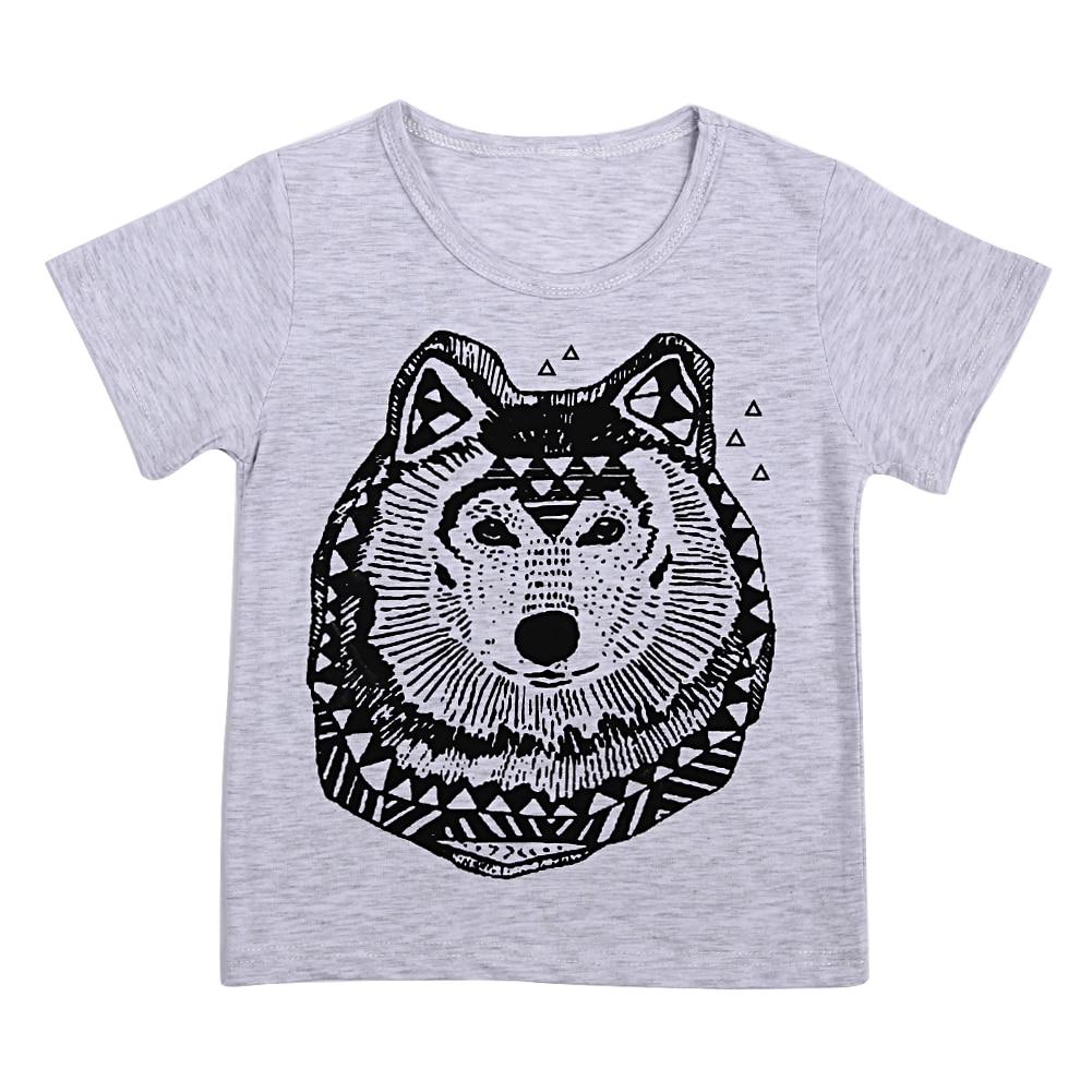 Children T shirt for Boys Clothing 2017 Brand Baby Boys Summer Tops Tee Shirt 100 Cotton