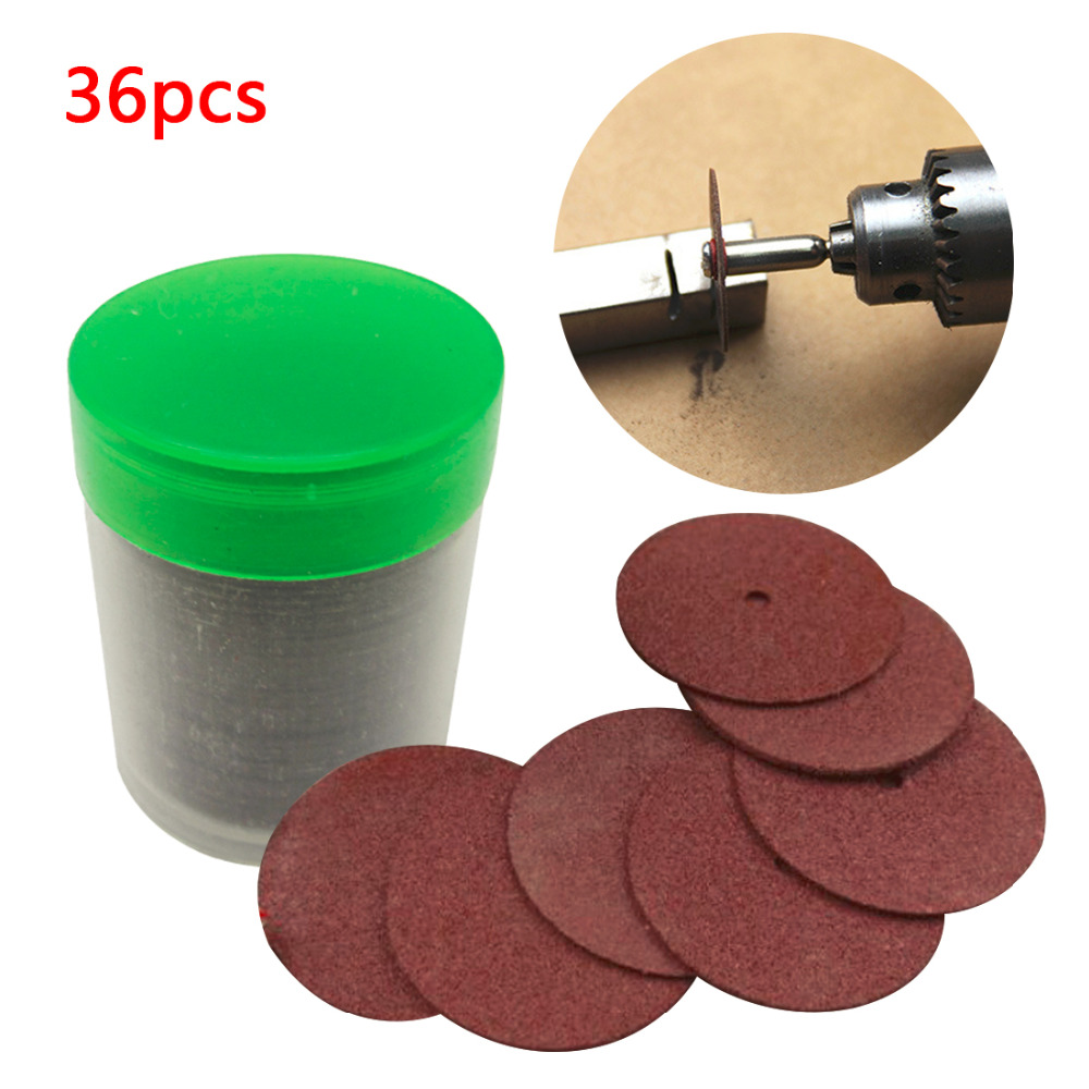 24mm Dremel Rotary Tool Grinding Wheel Resin Cutting Disc Circular Saw Blade  Abrasive Sanding Disc For Grinding Tools