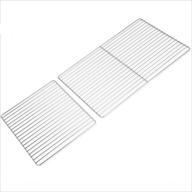 45x30cm/25x30cm stainless 201 non stick non rust easily cleaned bbq net delicous barbecue mesh grill mesh