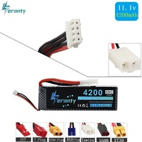 Tamiya Connectors 11.1v 4200maH 35c max 45c For RC helicopters Airplanes Four axis aircraft power 3S battery 11.1v Lipo battery