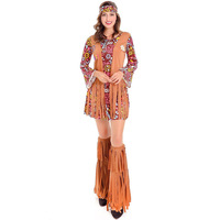 Exotic Clothes Vintage 1970s Singers Female Native Indian Cosplay Halloween Party Costume Fantasic Costume Disfraces 3024H272