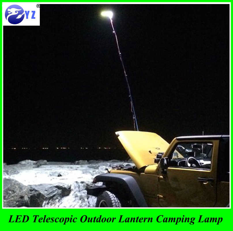1 Set car styling 12V LED Telescopic Outdoor Lantern Camping Lamp Light Night Fishing Road Trip with RF Controller