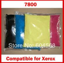 High quality color toner powder compatible for Xerox Phaser 7800 Free Shipping