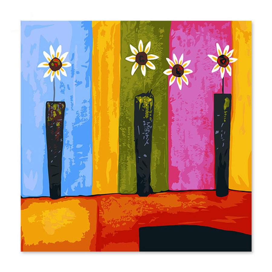 Beautiful flower flowers colorful draw on canvas digital painting beautiful flower flowers colorful draw on canvas digital izmirmasajfo