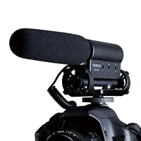 SGC 598 Photography Interview Microphone For Youtube Vlogging Video Shotgun MIC For Nikon Canon DSLR Microphone