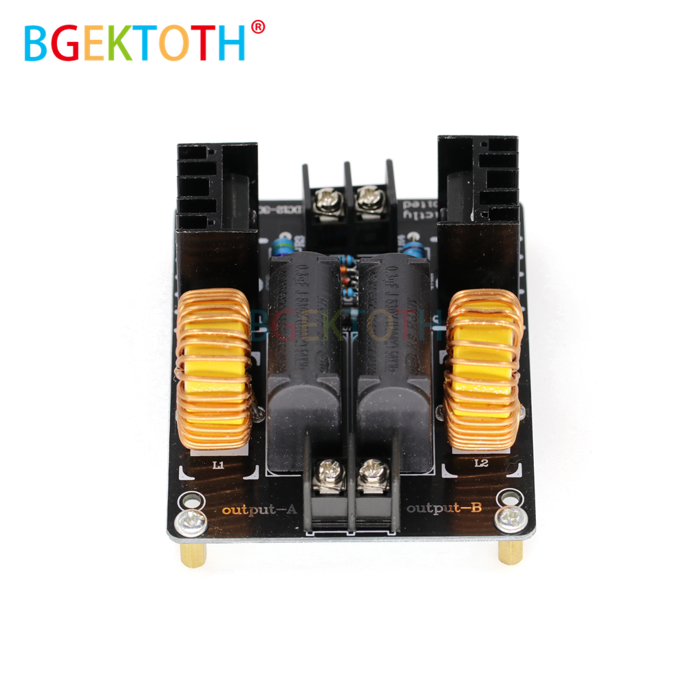 cheapest 1000W 20A ZVS Low Voltage Induction Heating Coil Module Flyback Driver Heater Large Heat Sink Module Heater