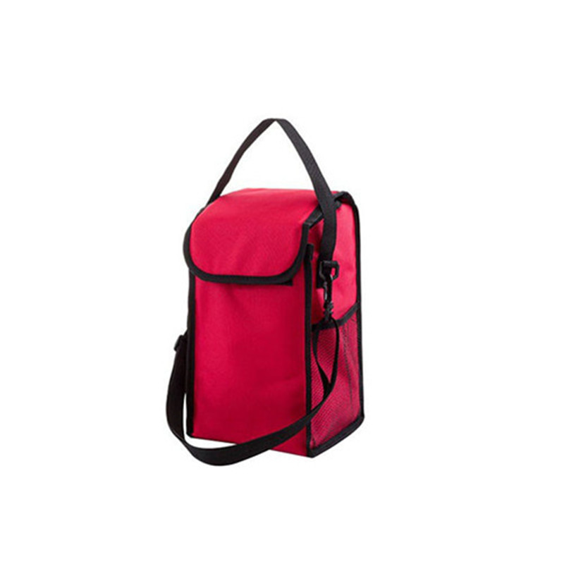 Cute Expression Waterproof Oxford Lunch Bag Thermal Students Kids Food Picnic Lunch Bags Warm Cooler Keeper Totes