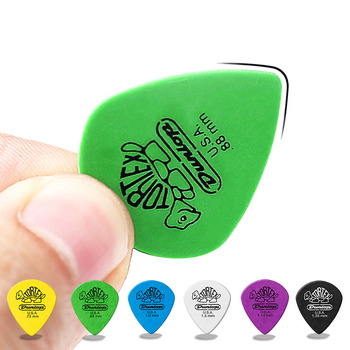 1 pc Dunlop Guitar Picks Tortex Jazz III XL Guitar Pick Plectrum Mediator Guitar Parts Accessory Colorful Guitar Picks
