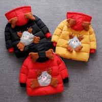 Baby Girl Autumn Winter Coat Winter Jacket Baby Warm Hooded Kids Coat Infant Jackets for Girls