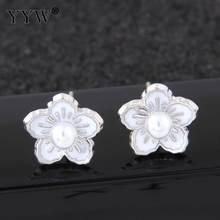 6327bdafe 1 Pair Trendy Cute Small Unicorn Flower Shape Stud Earrings Set For Women  Kids Girls Party Daily Wearing Fashion Jewelry 2018