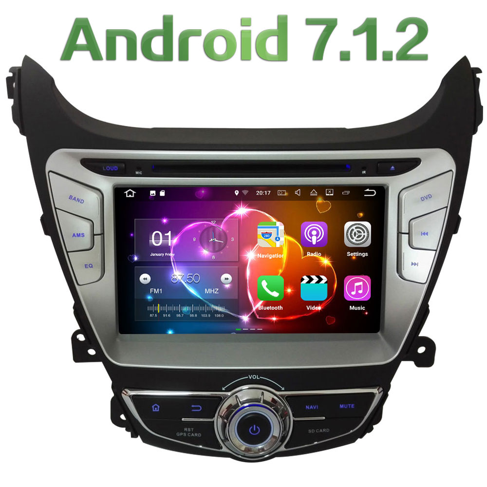 Android 7 1 8 HD 2GB RAM Quad Core 4G DAB WiFi Multimedia Car DVD Player