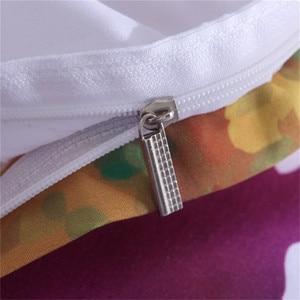 Image 5 - LOVINSUNSHINE ensemble de literie coloré aquarelle splash qualité couverture roi reine taille doux blanc housse de couette et taie doreiller aa99 #