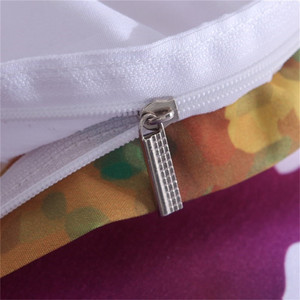 Image 5 - Lovinsunshine colorido conjunto de cama aquarela respingo qualidade capa rei rainha tamanho macio branco capa edredão e fronha aa99 #
