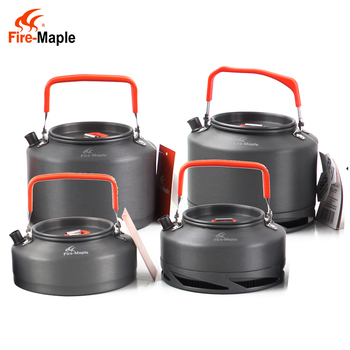Fire Maple Cookware Water Kettle Aluminum Portable Coffee Pot Water Kettle Teapot with Mesh Bag For Travel Camping outdoor elliptical aluminum sports military fans with creative water cups flat pot portable kettle
