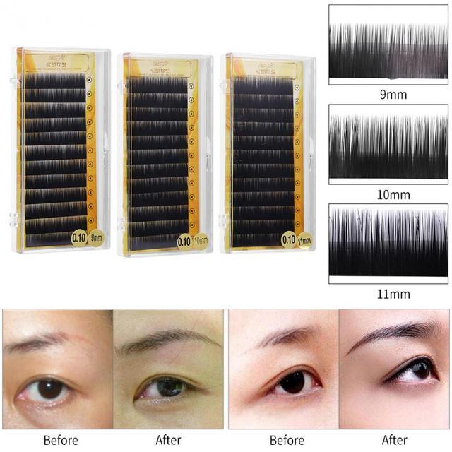Aliexpress Buy Natural Black False Eyebrow Extension Fake
