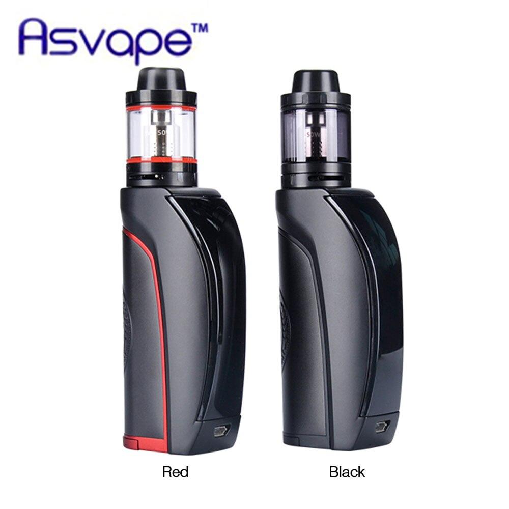 Оригинальный Asvape Цезарь 100 комплект ж/100 мл Цезарь 100 танк и 3,5 Вт Макс выход цельный изогнутый экран E-cig комплект для электронной сигареты vs ...