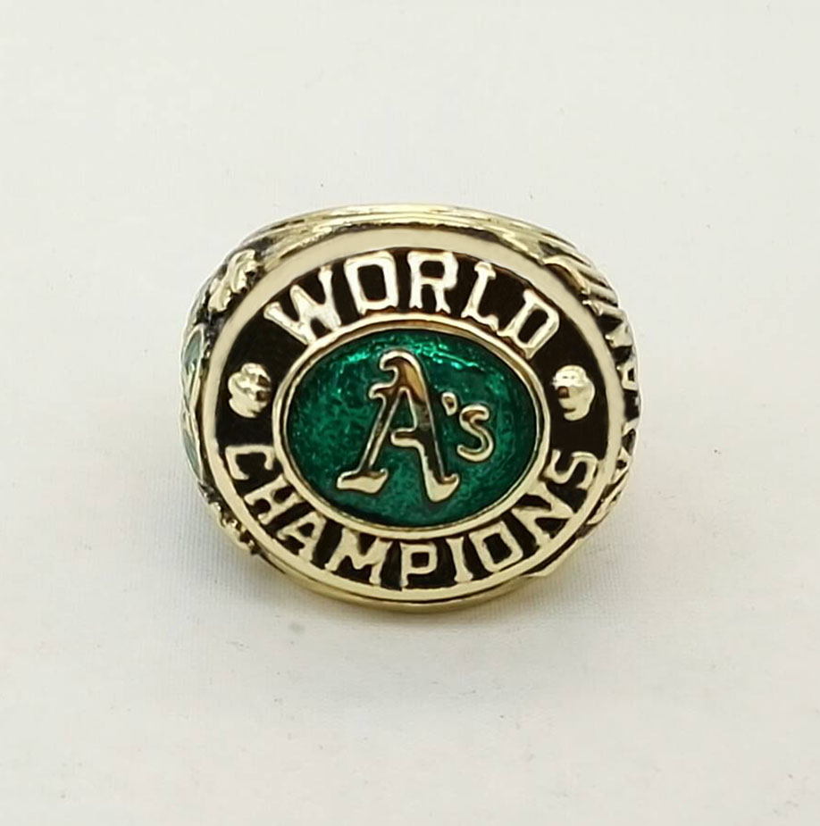 Factory Direct Sale 1974 Oakland Athletics A's Major League Baseball Zinc  Alloy Championship Rings Replica Jewelry