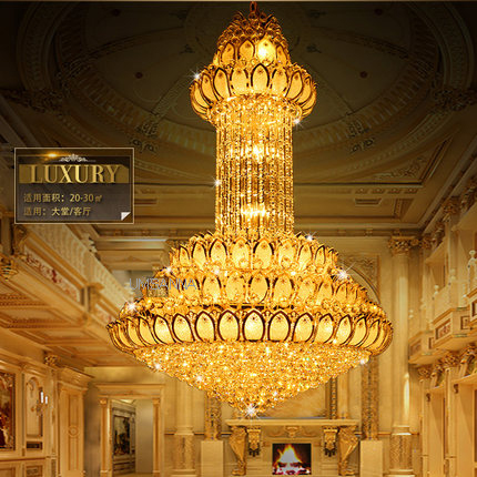 Led luzes do candelabro de cristal luminária americano flor lótus lustres casa iluminação interior moderna pendurado luz longo lâmpadas