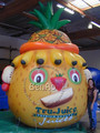 AO016  3.5m Hight New Design Helium Balloon Inflatable Advertising Sky pineapple / Zeppelin /Helium Airship /AirplaneFor Sale