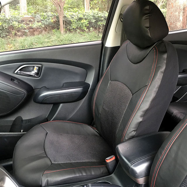 Black Universal Auto Seat Cover Car Front Single Seat Cover Car Seat Protector Universal Car Accessories