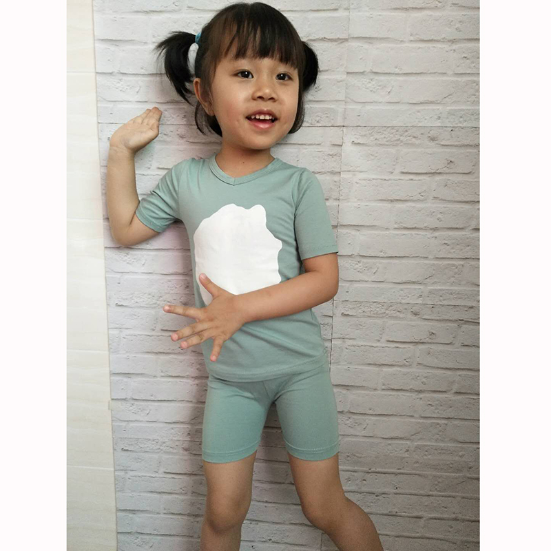 HITOMAGIC Girls Clothing Sets Summer 2019 New Hot Sale Baby Kids Boys Clothes With Pants Shorts Cotton Soft Cute White Circle   HITOMAGIC Girls Clothing Sets Summer 2019 New Hot Sale Baby Kids Boys Clothes With Pants Shorts Cotton Soft Cute White Circle