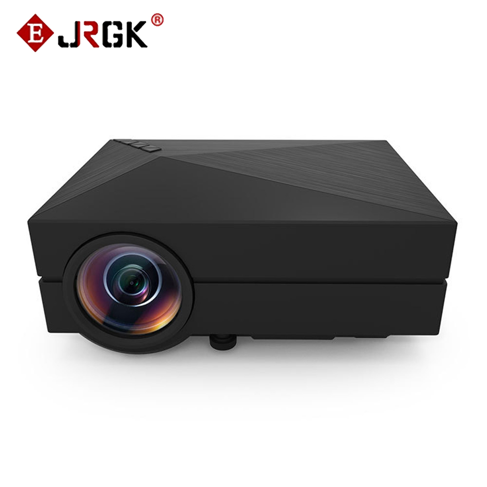 FREE DHL GM60 LED Projector 800x480 Pixels Support 1080P HD Mini LCD Proyector gm60 Multimedia Player for Home Theater Cinema mini portable multimedia player dvd player home theater projector led proyector
