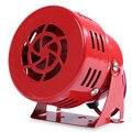 Altavoz de la Sirena de Alarma de Coche Universal Coche Sonido Fuerte Sirena de Hornos Wired Aire Raid Impulsado de Alarma de Seguridad para el Carro SUV Motocicleta Bus