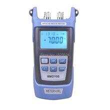 2 в 1 измеритель оптической мощности 70 ~ + 3dBm и тестер волоконно оптического кабеля Визуальный дефектоскоп 1 мВт