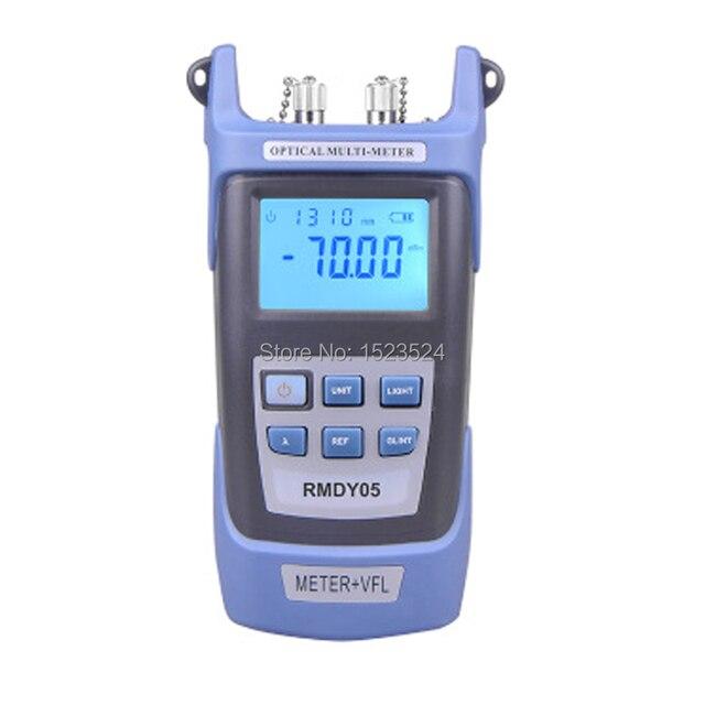 Medidor de potencia óptica 2 en 1 70 ~ + 3dBm y probador de Cable de fibra óptica Localizador Visual de fallos 1mw