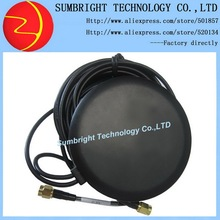 SB-CA200-SMA-3M 100pcs*active external  2-in-1 outdoor waterproof car dual band SMA GPS GSM combine antenna with 3M cable