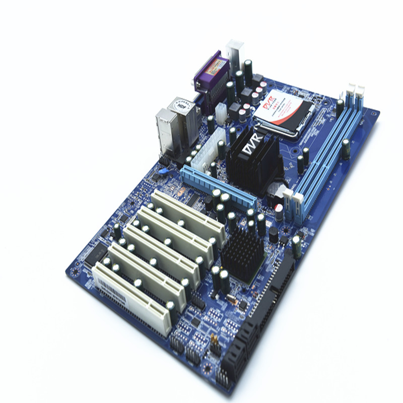 PANSHI PS-G41DVR monitoring motherboard 5 PCI new industrial motherboard