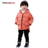 Winter Autumn Baby Coat Keep Warm Outwear Cotton Padded Hooded Clothes Infant Newborn Kid Fashion And