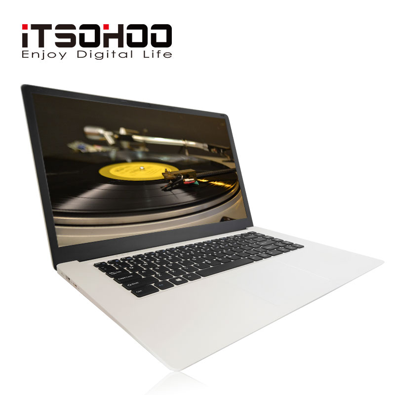 ITSOHOO 15.6 polegada Laptop Intel Cereja Trilha X5-Z8350 4GB RAM GB EMMC 64 Quad core Grande tamanho Laptops Windows 10 OS BT 4.0 Computador