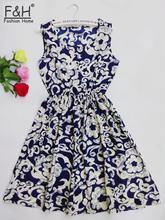 CDJLFH Summer Women Sexy Chiffon Dress Beach Floral Tank Fashion Dresses S M L XL XXL