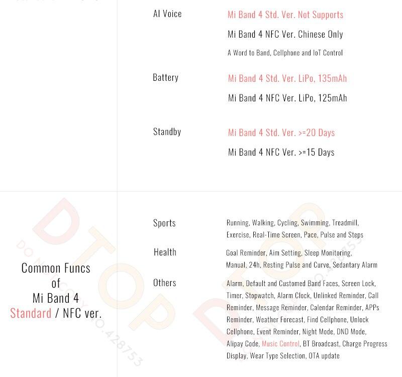 Hot Offer] Original Xiaomi Mi Band 4 Smart Bluetooth 5 0