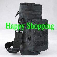 Военная Молл молния Тактический бутылка для воды мешочек инструментальный meic мешок чайник пакет Охота Открытый столовая дорожная сумка