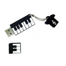 Cute Piano Shape USB Flash Drive 4gb 8gb 16gb 32gb 64g Pendrive storage flash disk USB2.0 pen drive Memory Stick U Disk