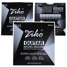 3Sets 010 046 ZIKO Electric Guitar strings guitar parts musical instruments Accessories