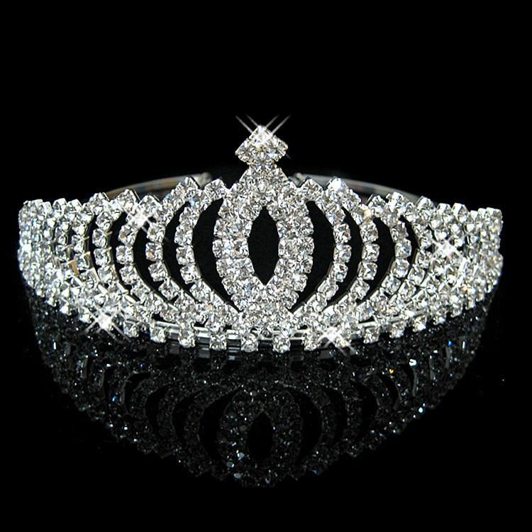 HTB1owttIFXXXXcgXpXXq6xXFXXXv Bejeweled Pearl And Rhinestone Crystal Bridal/Prom/Cosplay Crown Tiara - 16 Styles