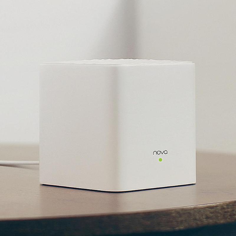 Nouveau routeur WiFi sans fil 2 pièces/ensemble Tenda Nova MW3 AC1200 double bande 2.4/5 GHz WiFi répéteur système APP gestion à distance