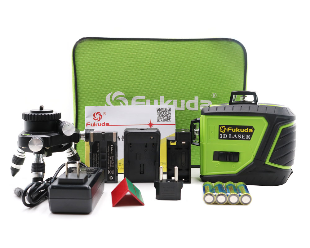 2018 New 12Lines 3D 93T Laser Level Self-Leveling 360 Horizontal And Vertical Cross Super Powerful Green Laser Beam Line