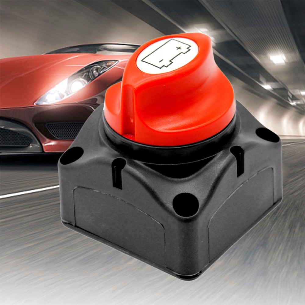 600A Rated Current Auto Battery Power Switch Battery Power Protective Knob Breaker Battery Car Disconnect Isolator Switch