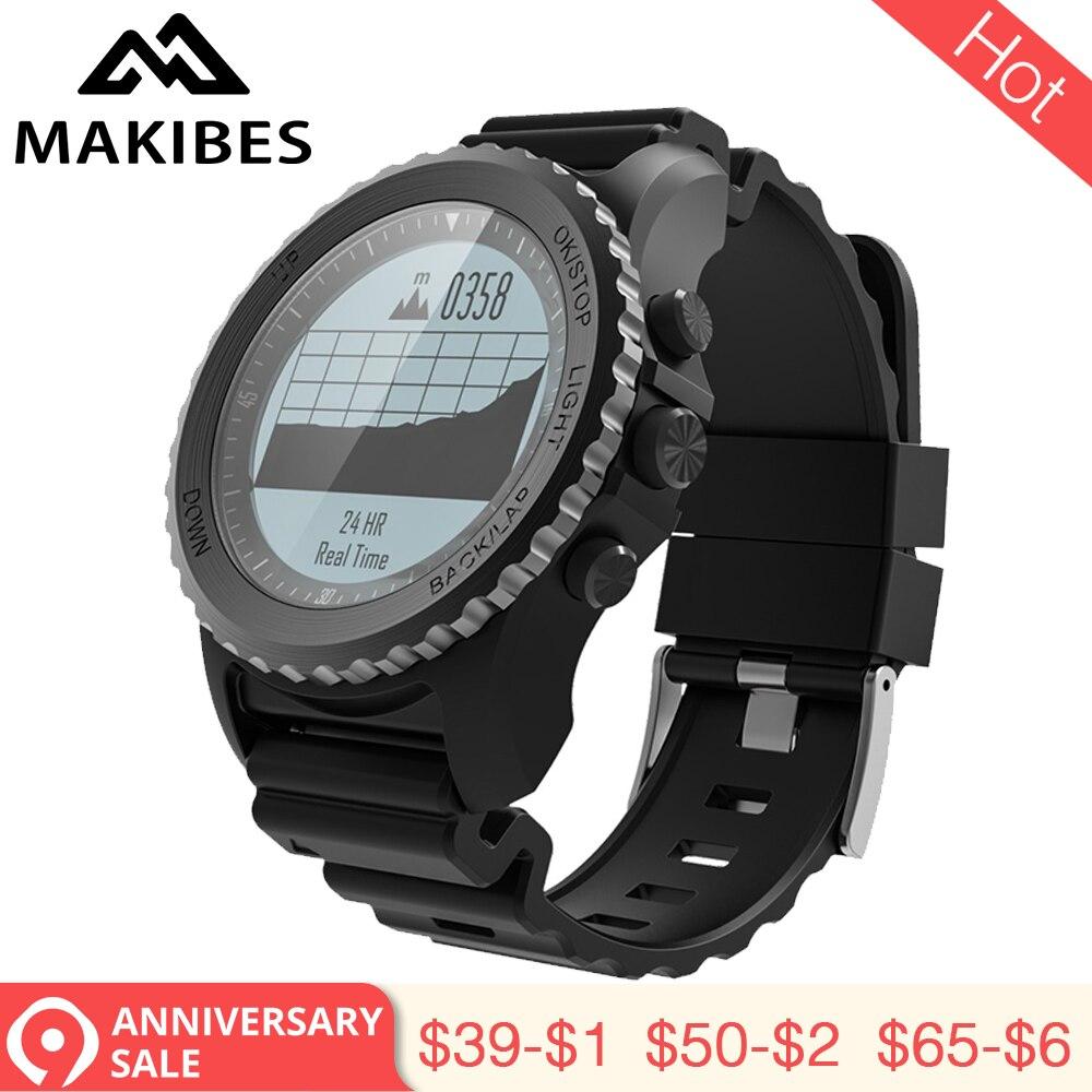 3.28 Makibes G07 GPS Hommes Multisports de montre intelligente bluetooth IP68 Étanche Plongée En Apnée Dynamique de Fréquence Cardiaque GPS montre intelligente tracker