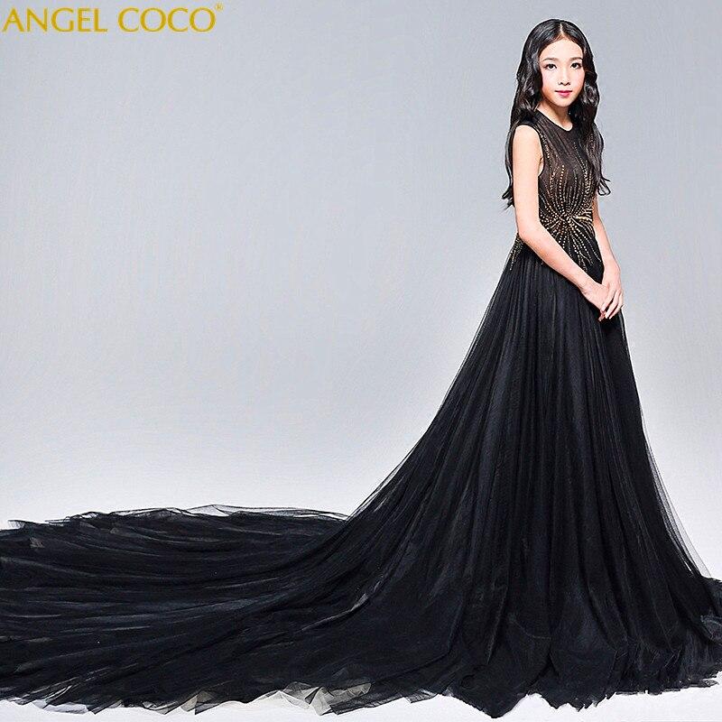 Девушка платье принцессы цветочный платье для девочек летняя детская одежда День рождения платье для малышки пачка на свадьбу 2 до 10 лет Дет