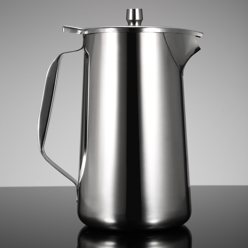 Stainless Steel Cold Water Pot High Quality Kitchenware Ice Tea Jug Kettle Pitcher Lid And Spout Kitchen Accessories In Bottles From Home