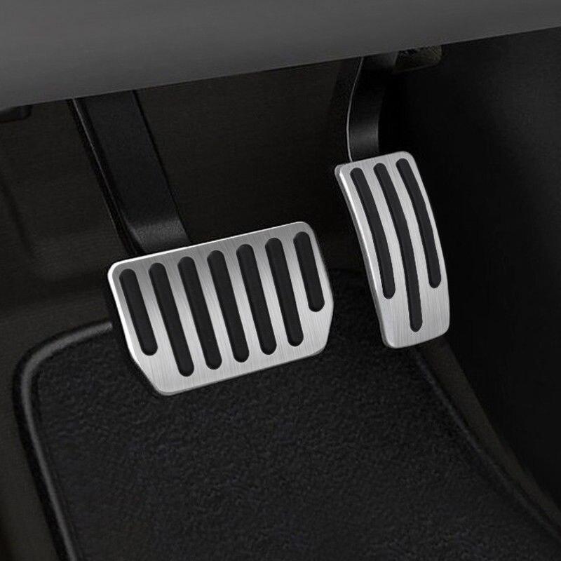Image 4 - Газовая Тормозная подставка для отдыха ноги для Tesla модель 3 2018 2019 защитный комплект-in Педали from Автомобили и мотоциклы