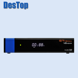 Image 2 - GTmedia V8 Nova Blue DVB S2 HD Satellite receiver Support H.265 power vu biss built WiFi set top box