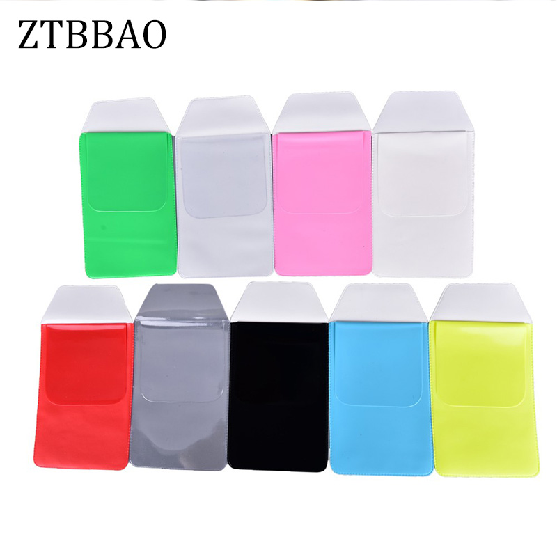 ZTBBAO Scrub Transparent Doctors Nurses Dedicated Pen Bag Practical Pen Inserted Leak-Proof PVC Material Hospital Supplies
