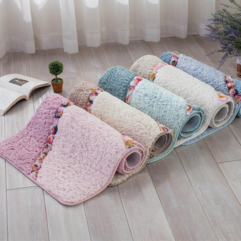 Soft Warm Floor Mats For Living Room Bedroom Rug Non Slip ...